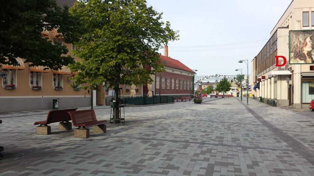 Hotell Jakobstad - Bild av gågatan