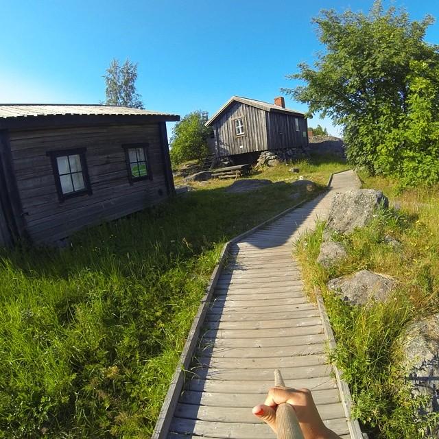 Tankar by - Foto från en utflykt till tankar sommaren 2014