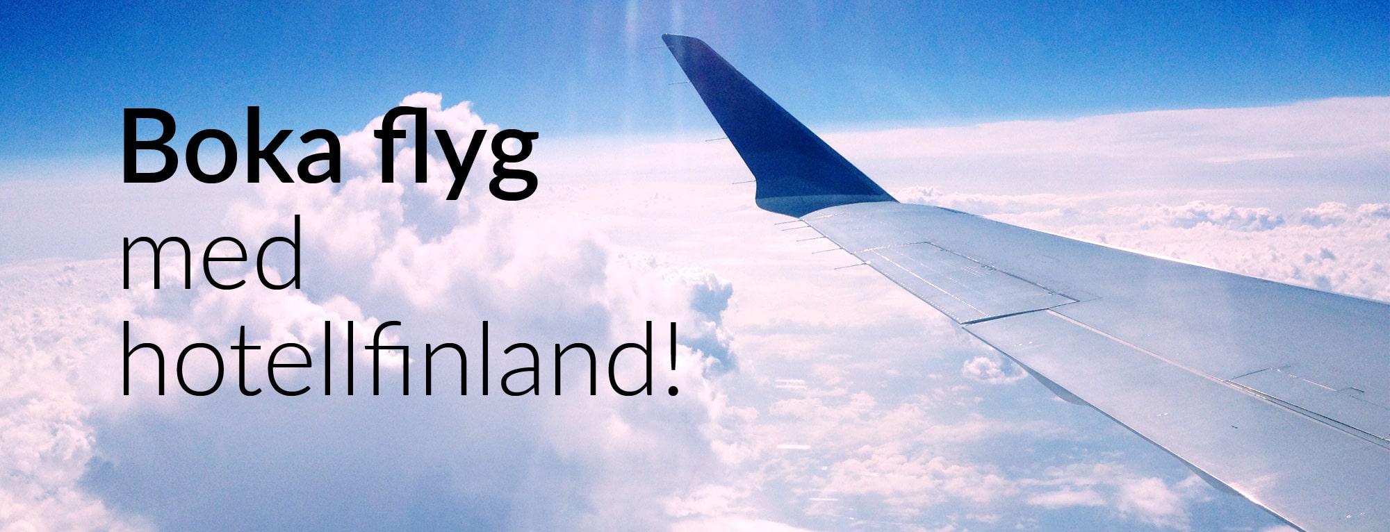 boka flyg med hotell-finland